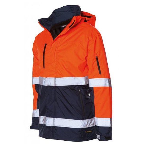 regenjack-rws-TPE3001-oranje-navy