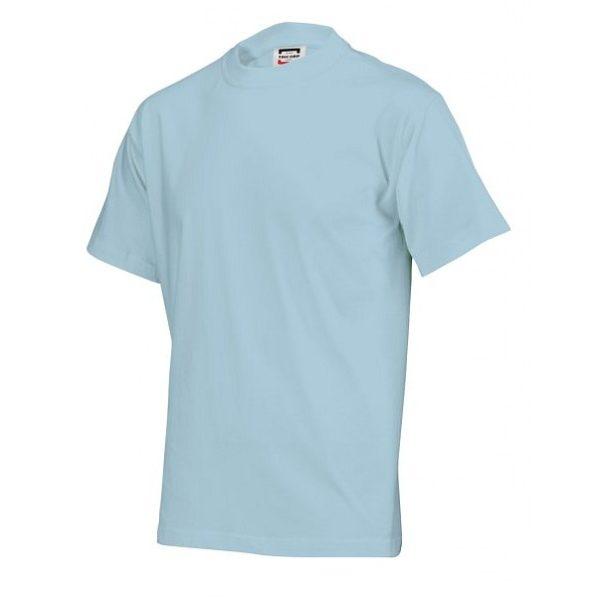 T-shirt-tricorps-T145-ijsblauw