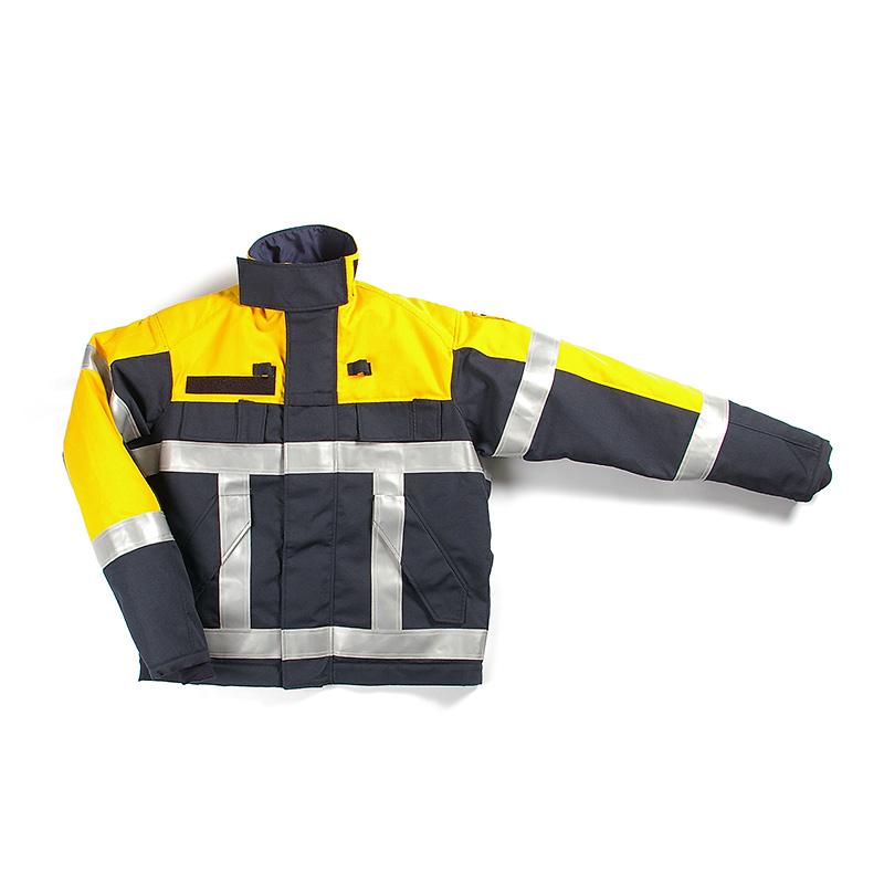 Blusblouson-Gore-Tex®-geel-zwart