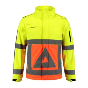 Tricorp-SOFTSHELL-VR orangeyellow front