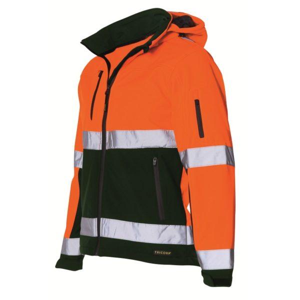 Tricorp-TSE3001 orangeegreen