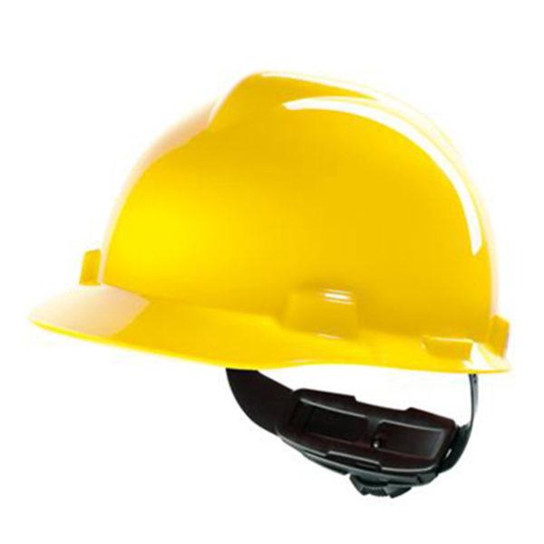 Veiligheidshelm-MSA-V-Gard-geel