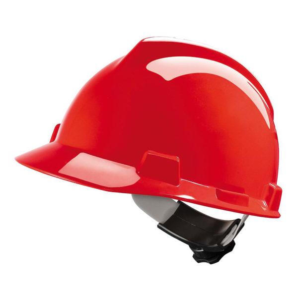 Veiligheidshelm-MSA-V-Gard-rood