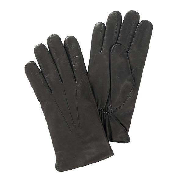 handschoen-leer-zwart