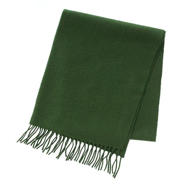 sjaal-wol-groen