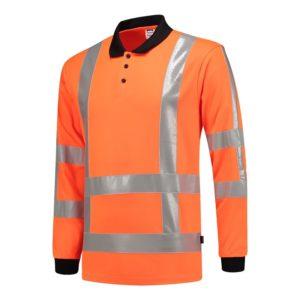 Polo shirt RWS lange mouw ISO20471 Tricorp in 2 kleuren