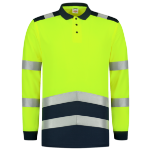 Poloshirt-Tricorp-High-Vis-Lange-Mouw-203008