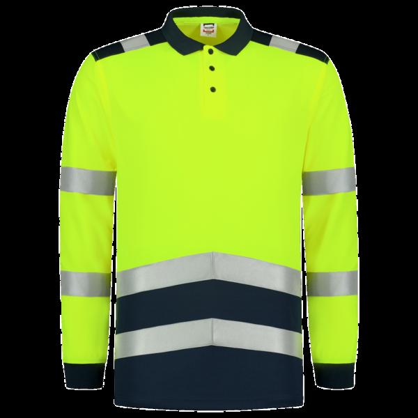 Poloshirt-Tricorp-High-Vis-Lange-Mouw-203008